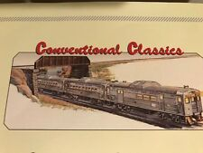 Lionel #2276W Budd Rdc 3-Car Commuter Set Mint/Box