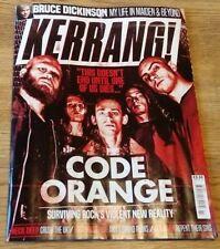 Kerrang #1694  CODE ORANGE. BRUCE DICKINSON + MORE
