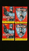 1990 Topps Robocop 2 Unopened Wax Pack 4 Pack Lot