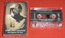 MANIC STREET PREACHERS - UK CASSETTE TAPE - GOLD AGAINST THE SOUL
