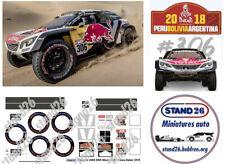 Decals stand26 Peugeot 3008 DKR Maxi Loeb Dakar 2018 1/43e