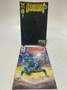 Valiant Comic SHADOWMAN #15 1993 + Nightstalkers #14 December 1993 Marvel Comic