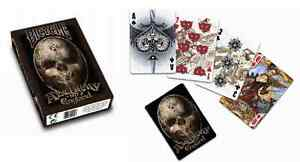 ALCHEMY 2 1977 ENGLAND BICYCLE DECK OF PLAYING CARDS BY USPCC GOTHIC MAGIC TRICK