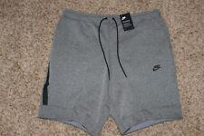 Mens Nike Tech Fleece Sportswear Shorts XS Carbon Heather Grey $70 NWT 805160 ..