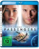 Passengers [Blu-ray](NEU/OVP) Jennifer Lawrence, Chris Pratt, Michael Sheen, Lau