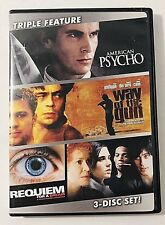 American Psycho - Way Of The Gun - Requiem For A Dream Dvd Set