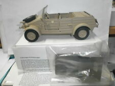 antico Gonio Militare Lamiera VW Kübelwagen Tipo 82 mimetico deserto 7cm Soldati