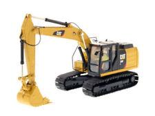 Maquinaria de construcción de automodelismo y aeromodelismo amarillos de escala 1:50