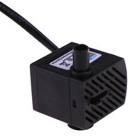 AC 220V Submersible Water Pump Aquarium Fountain Air Fish Pond Tank EU Plug VE