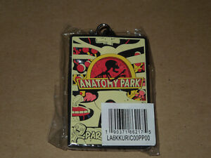 RICK AND MORTY ANATOMY PARK LANYARD ID Badge Holder - New and Sealed