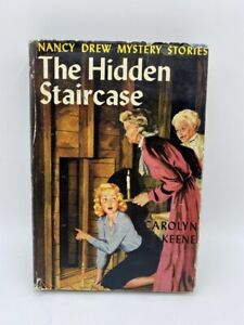 1930 NANCY DREW MYSTERIES STORIES THE HIDDEN STAIRCASE HARDCOVER BOOK W/ DJ