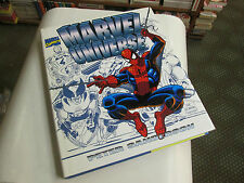 MARVEL UNIVERSE BY PETER SANDERSON...marvel comics