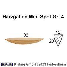 200 Lamello Harzgallen Harzgallenflicke Gr. 4 Fichte Spot Flicke 82 x 20 x 15 mm