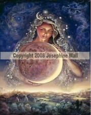 Moon Goddess Josephine Wall is beautifully displayed on an 8x10 inch ceramic til