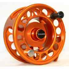 GALVAN RUSH LIGHT LT R-10 FLY REEL ORANGE 10/11 WT ROD USA MADE FREE $80 LINE