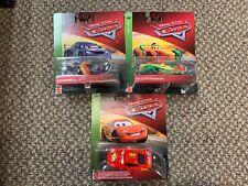 Disney Pixar Cars Rip Clutchgoneski, Max Schnell & Racing Wheels Lightning
