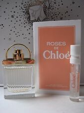 NEW LOT 3~ Chloe LOVE STORY Mini .25oz + ORIGINAL + ROSES DE CHLOE Sample Sprays