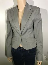 CUE Grey & Pink Jacket Ladies Size 8