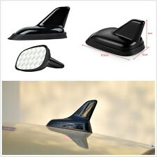 3D Black Shark Fin Car Offroad Roof Top Decoration Simulation Antenna w/3M Decal