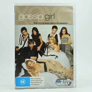 Gossip Girl Season 2 DVD 2009 7-Disc Set GC