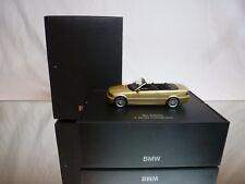 MINICHAMPS BMW 3 SERIES E46 CABRIOLET - BEIGE 1:43 - EXCELLENT IN DEALER BOX