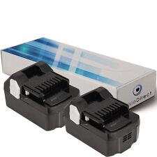 Lot de 2 batteries 18V 3000mAh pour Hitachi DV18DSL - Société Française -