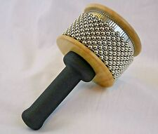 Cabasa Latin Rhythm Instrument Percussion Shaker Wood w/Padded Handle New