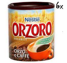 6 Nestle Orzoro und kaffee Instant lösliche Gerste Getreidekaffee kaffee 120 gr