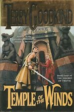 The Sword of Truth: TEMPLE OF THE WINDS Bk 4 by Terry Goodkind - Hardcover