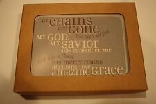 "NWT 12 notecards DaySpring encouragement notes Religious ""my chains are gone"""