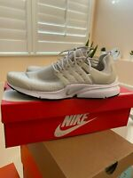 Nike Air Presto Running Shoes Women's Size 11 Light Bone Iron Ore Black White