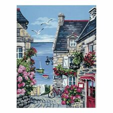 Royal Paris The Harbour Street Tapestry Canvas Only 00080