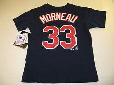Justin Morneau Minnesota Twins #33 Baseball Jersey T-Shirt New! Nwt Boys Small 4
