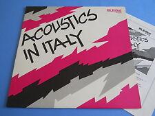 LP ITALIAN PROG/FOLK ACOUSTIC IN ITALY - AES DANA ACUSTICA MEDIOEVALE RITMIA