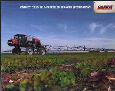 """CASE IH Patriot """"2250"""" Self-Propelled Sprayer Brochure Leaflet"""