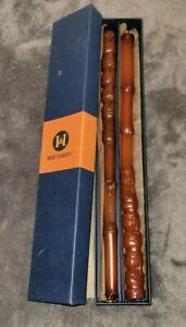 "John Hardy 12"" Japanese Bamboo Design Beeswax Candles 100% Beeswax"