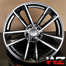 18 inch Sportback 1329 Style Wheels Gunmetal Fits Audi A3 S3 A4 S4 A5 S5 TT Q3