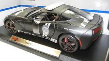 2014 CORVETTE  STINGRAY  POLICE CAR MATT  BLACK NEW IN BOX!!!!!!!!!!!!!!!!!!!!!