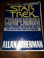 The STAR TREK Compendium by Allan Asherman 1981