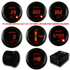 ADD W1 Red Led Air Fuel + Turbo Boost + Oil Pressure Gauge DIGITAL LED
