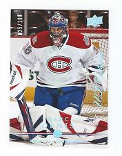 2008-09 Upper Deck Exclusives card #361 of Marc Denis #025/100