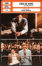 L'AGE DE VIVRE - Peter Medak (Fiche Cinéma) 1991 - Let Him Have It