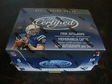 2012 Panini Certified Football Box--Hobby--Factory Sealed--10 Packs--4 Auto/Jsy