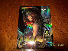 WITCHBLADE WIZARD TRADING CARD #15