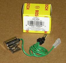 VW Distributor Condenser Ignition Part Bosch 1970 up Beetle Bus Porshe 914 02054