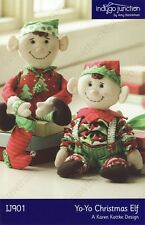 YoYo CHRISTMAS ELF Indygo Junction Pattern Crafts Quilting NEW