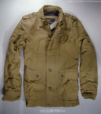 American Eagle Mens Khaki Military Jacket SMALL NWT