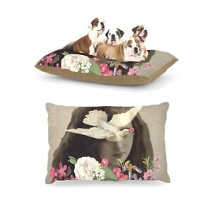 """Fleece Pet Bed Kess InHouse Suzanne Carter """"Doves Eyes""""  30 by 40-Inch"""