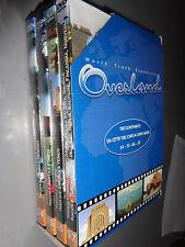 OPERA COMPLETA BOX 4 DVD OVERLAND 3 WORLD TRUCK DA CITTA' DEL CAPO A CAPO NORD