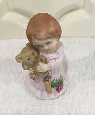 Growing Up ~ Birthday Girls ~ 1981 ~ Age 1 Figurine